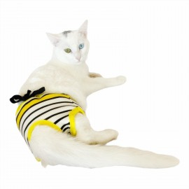 Bee Colours Kemique's Secret Kedi İç Çamaşırı  Regl Külot  Don
