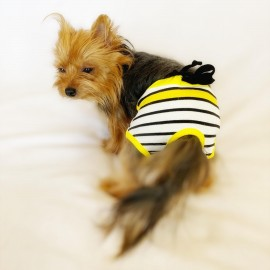 Bee Colours Kemique's Secret Köpek İç Çamaşırı  REgl Külot  DON